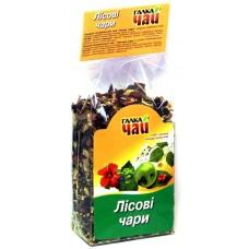 """""""Лісові чари"""" чай натуральний  ТМ """"Галка Чай""""  100 г"""
