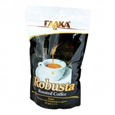 """Робуста"" кава смажена в зернах 1 кг (пакет)"