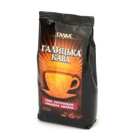 """""""Галицька кава"""" мелена  200 г (пакет)"""