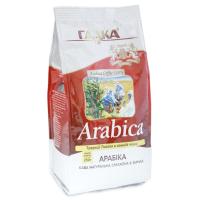 """""""Арабіка"""" кава смажена в зернах 250 г (пакет)"""