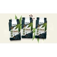 Кава натуральна посмажена та змелена з коноплями 225 г (вакуум-пакет)