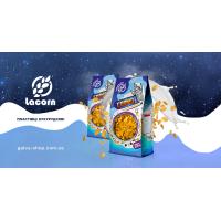 """Lacorn"" кукурудзяні пластівці глазуровані 250 г (пакет)"