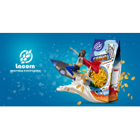 """Lacorn"" кукурудзяні пластівці класичні 250 г (пакет)"