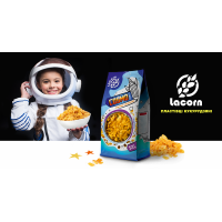 """Lacorn"" кукурудзяні пластівці глазуровані 500 г (пакет)"
