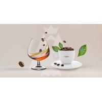 """Коньяк"" кава ароматизована смажена в зернах 250 г (пакет)"